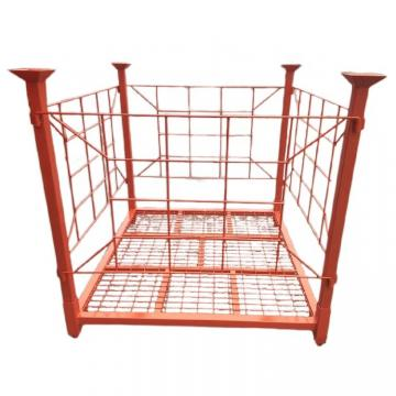 Hot dip galvanized /powder coated stackable folding Metal heavy duty storage holding rack