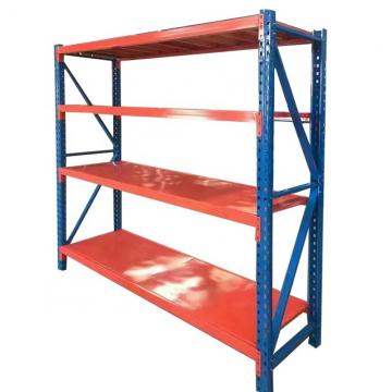 Boltless 4-shelf warehouse shelving medium duty garage storage rack