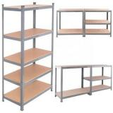 Medium duty metal shelving warehouse long span shelves