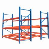 metal slotted angle storage shelving racks for warehouse