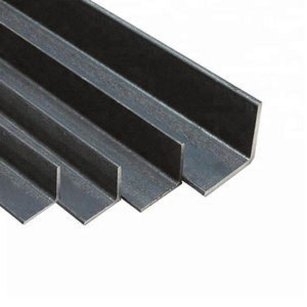 ASTM 201 304 316 Natural Color Stainless Steel Angle Rod Equal Angel Bar for Building High Quality Construction Structural #1 image