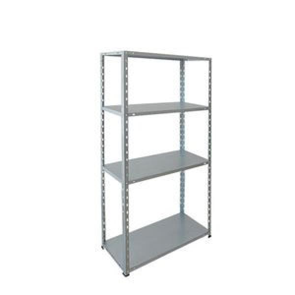 White Color Corrosion Protection Safe Curled Edge Upright Steel Storage Adjustable Warehouse Shelving And Rack #2 image