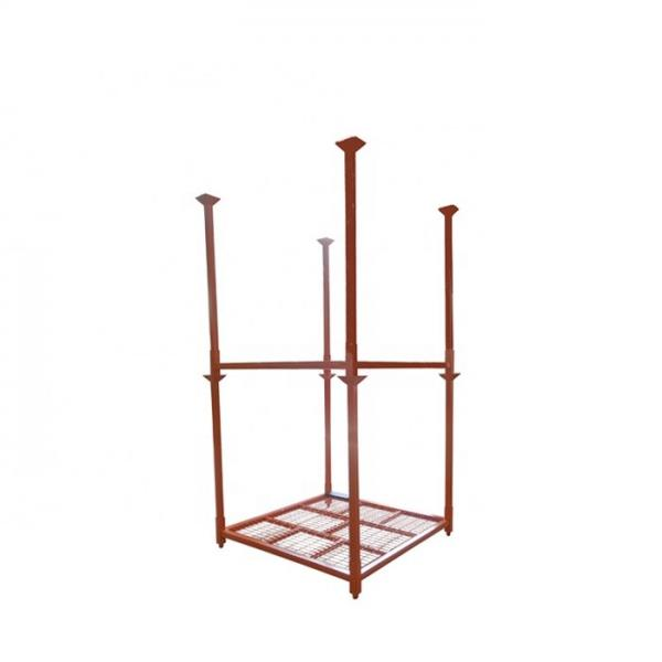 200-1500kg/Arm cantilever shelving heavy duty metal rack for storage lumber wood and aluminum profiles #3 image