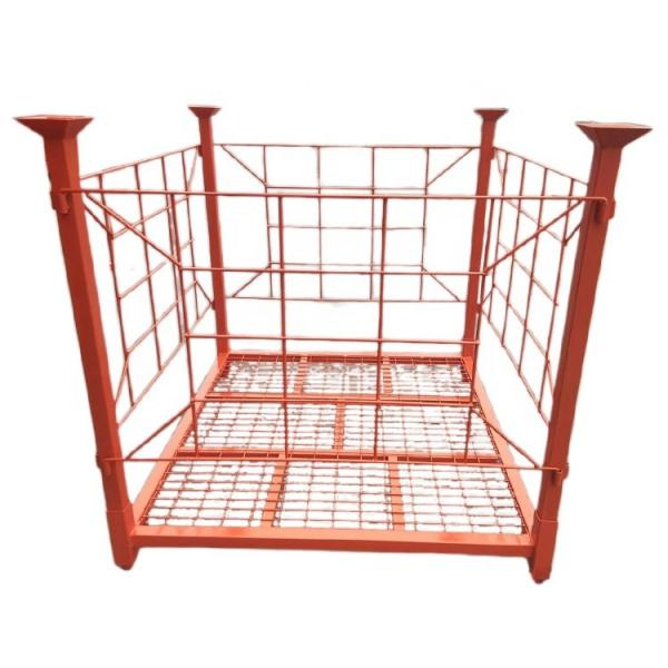 Hot dip galvanized /powder coated stackable folding Metal heavy duty storage holding rack #3 image