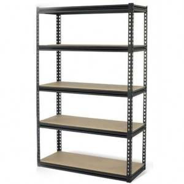 3 tiers green square display rack stand heavy duty metal storage shelf with billboard 6 colors for wholesale #1 image
