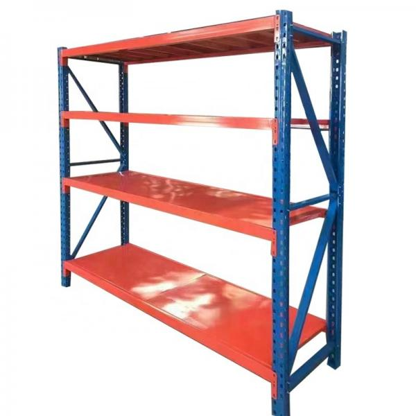 Heavy duty adjustable steel garage storage shelving rack #2 image