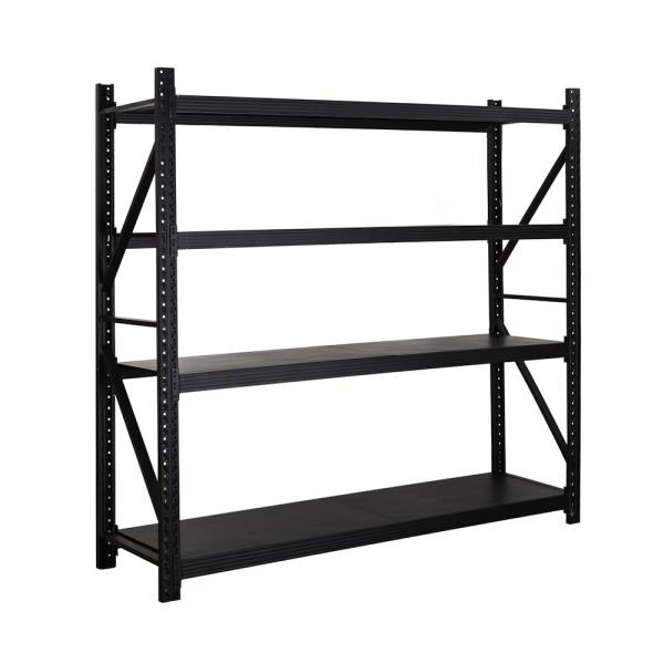 Bulk Rack Warehouse Pallet Shelving Units With Steel Decking #1 image