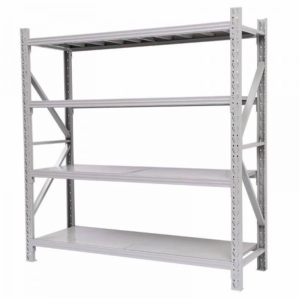 Bulk Rack Warehouse Pallet Shelving Units With Steel Decking #3 image