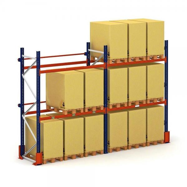 Best choice Warehouse Storage Inventory Steel Shelving Materials Handling Selective Pallet Racking Systems #2 image